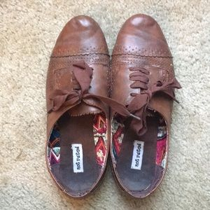 Not Rated brown shoes